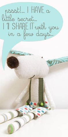 Ernesto the #softie #handmade #dog  by PinkNounou