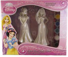 Disney Princess Paint Your Own Statue - Rapunzel and Snow White Disney http://www.amazon.com/dp/B00FNGXJR2/ref=cm_sw_r_pi_dp_ht3jub07QQT8Z