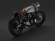 josue-rodz:   Leatherhead Honda CB650 - Oscar... - Cafe Racer Moto Speed Retro