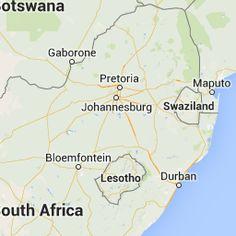 Francistown Botswana ve Güney Afrika Johannesburg arasındaki mesafe