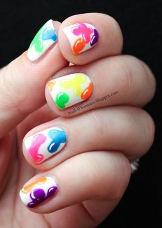 Sara i want to see these on you - Nails4Dummies - Jelly Blob Nails