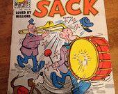 Harvey Comic Book Early 1960's,  Sad Sack Complimentary Copy Comic Book, Sad Sack Comic Book Illustrated By George Baker, HD No. 18 Comic