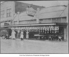 Hubers meat market Kirkland 1935