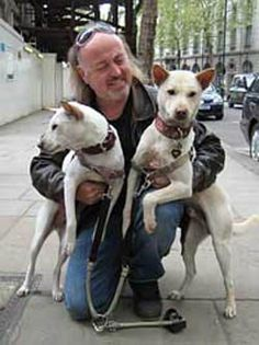 IAR Patron Bill Bailey and his two dogs. Way to go Bill!!!