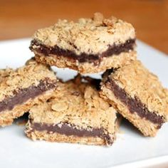 Nutella Fudge Crumble Bars... easy to make, easy to love.