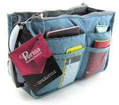 Periea Handbag Organizer, Liner, Insert 12 Pockets Large - Sky Blue - Chelsy Periea http://www.amazon.com/dp/B006DG055K/ref=cm_sw_r_pi_dp_0ot3ub1VN4GWC
