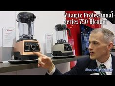 IHHS 2016 | Vitamix Professional 750 Blender | G-Series | Chicago  International Home Show - YouTube