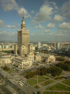 Warsaw. This was once the view from my window...