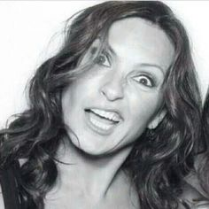 Mariska Hargitay being silly