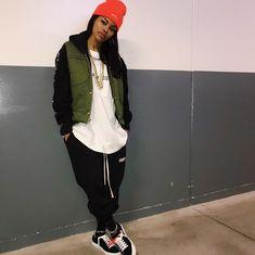 Tomboy Outfits, Chill Outfits, Tomboy Fashion, Dope Fashion, Swag Outfits, Dope Outfits, Fashion Killa, Streetwear Fashion, Teen Fashion