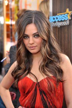 Le wavy sexy de Mila Kunis