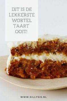 Sweet Recipes, Cake Recipes, Dutch Recipes, Salty Cake, Savoury Cake, Mini Cakes, Carrot Cake, Clean Eating Snacks, Cake Cookies