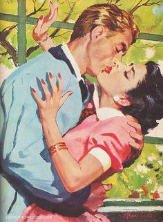 Sweet Kisses ~ Pruett Carter, ca. 1950s
