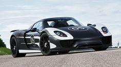 Porsche 918 Spyder: o carro do futuro, pronto para a rua