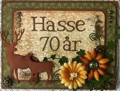 made by Annelie...: Farbror Hasse 70 år!