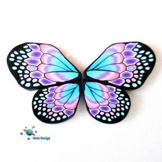 Butterfly wings by Marcia - Mars design, via Flickr