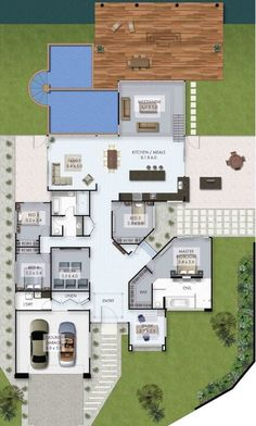 home design plans, new home designs, plan design, house l House Layout Plans, Dream House Plans, Modern House Plans, Small House Plans, House Layouts, House Floor Plans, New Home Designs, Home Design Plans, Plan Design