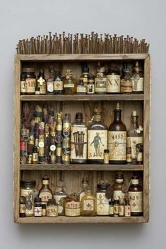 The perfect medicine cabinet, certainly would be a talking point...