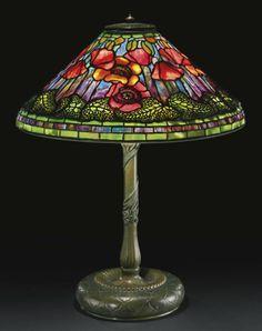 Tiffany Poppy lamp.