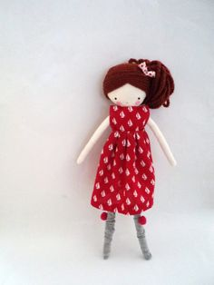 Handmade+rag+doll++Berta++ooak+cloth+art+rag+by+lassandaliasdeana