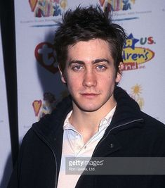 Celebrating actor Jake Gyllenhaal\'s birthday today as he turns 37. Gyllenhaal seen here at the tender age of 22 attended the 10th Annual \'Kids for Kids\' Celebrity Carnival to Benefit the Elizabeth Glaser Pediatric AIDS Foundation on 04.28.02 at the Wollman Rink Central Park NYC. #DonnieDarko #Maggie Gyllenhaal #OctoberSky #BrokebackMountain #MatildaRoseLedger #RockTheVote #Mindfulness