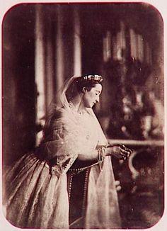 Cesarzowa Francji – Eugenia, żona cesarza Napoleona III. Była piękną kobietą…