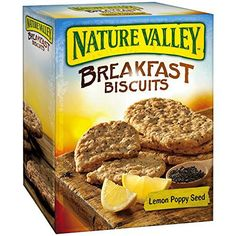 (2 Pack) Nature Valley Breakfast Biscuits Lemon Poppy Seed 5- 1.770z Pouches - http://sleepychef.com/2-pack-nature-valley-breakfast-biscuits-lemon-poppy-seed-5-1-770z-pouches/