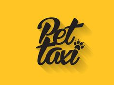 Pet Taxi on Behance