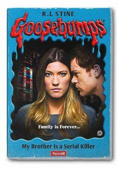 Creepy Fall TV Shows as 'Goosebumps' Book Covers [Pics] Dexter
