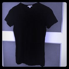 JAMES PERSE Classic SS Tee In impeccable used condition - this Tee is a high quality classic. Sizing is WiERD with this designer - fit is a SM/Med (looser fit on a size small - standard slim fit on a medium) trades James Perse Tops Tees - Short Sleeve