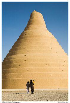 Iran - Ice House (Yakhchal) of Yazd یخچال در یزد، ایران