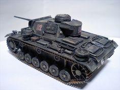 1/48 III号戦車   タミヤ1/48MM ドイツIII号戦車L型