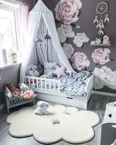 We have just one Cam Cam Harlequin Dolls Bed left in grey! These stunning pieces never last long so jump to it if you want it! Cloud Mobiles are also due to arrive today, wooooop! Pre orders will be shipped tomorrow 👏🏼 Stunning space Baby Bedroom, Baby Room Decor, Nursery Room, Girl Nursery, Girls Bedroom, Bedroom Decor, Nursery Ideas, Little Girl Rooms, Nursery Design