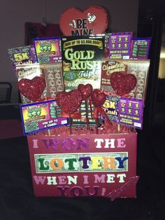 The Ultimate list of easy DIY Valentine's Day gifts for boyfriends. Man Bouquet made out of Lottery Tickets. The best Valentine's Day gifts for him. Diy Valentines Day Gifts For Him, Bday Gifts For Him, My Funny Valentine, Valentine Day Crafts, Valentine Ideas, Diy Anniversary Gifts For Him, Valentines Day Gifts For Him Boyfriends, Husband Valentine, Gifts For Boyfriend Long Distance