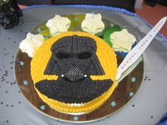 darth vadar cake:  http://www.squidoo.com/Star-Wars-Cakes