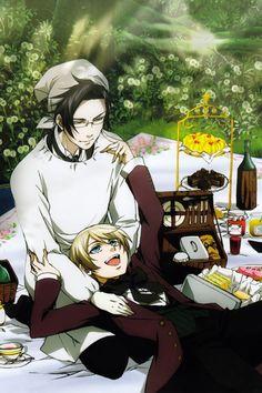 Alois and Claude - Black Butler