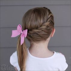 School hairdos, back to school hairstyles, baby girl hair, girl short hair, School Hairdos, Girls School Hairstyles, Cute Hairstyles For Kids, Little Girl Hairstyles, Pretty Hairstyles, Easy Hairstyles, Kids Hairstyle, Hairstyles Videos, Back To School Hairstyles Easy