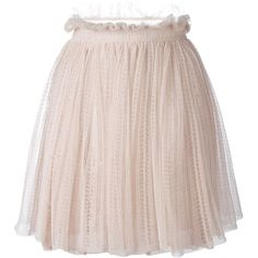 Alexander McQueen floral lace flared skirt ($1,275) ❤ liked on Polyvore featuring skirts, nude, metallic skater skirt, metallic skirt, pink skirt, floral print skirt and lace skirt