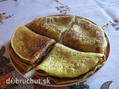 Palacinky bez múky Czech Recipes, Ethnic Recipes, Gluten Free Baking, Sweet Recipes, Pancakes, Sweet Tooth, Clean Eating, Food And Drink, Low Carb