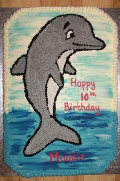 9th Birthday Cake 4th Parties Dolphin Cakes Celebration