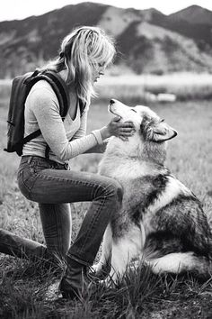 I want to be a wolf whisperer.