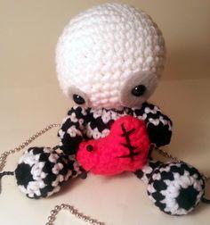 Crochet Pattern Zombie Amigurumi VooDoo Valentine Plush Doll - lauriegorexx @ Etsy