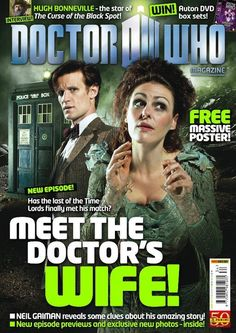 Doctor Who Magazine Cover Doctor Who Magazine, Hugh Bonneville, Blake Lively Style, Sci Fi Shows, Police Box, Television Program, Neil Gaiman, Time Lords, Dr Who