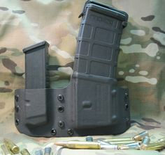 Kydex magpul pmag and glock magazine holsters