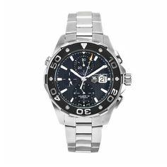 bd14eda6e3 TAG Heuer Men s CAJ2110BA0872 Aquaracer Chronograph Watch Tag Heuer