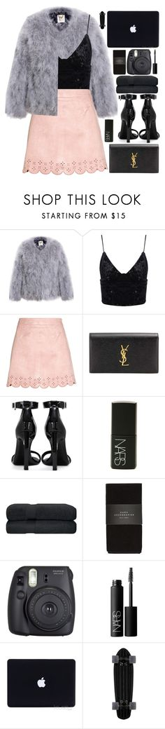 """candy kisses"" by charli-oakeby on Polyvore featuring Yves Saint Laurent, NARS Cosmetics, Zara, Fuji, contest, happy, love and featureme"