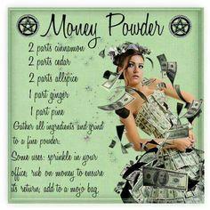 Money powder                                                                                                                                                                                 More