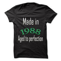 Hot Seller Most special Tee 1988 T Shirts, Hoodies, Sweatshirts. GET ONE ==> https://www.sunfrog.com/LifeStyle/Hot-Seller-Most-special-T-shirt-1988.html?41382