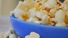 White sugar makes the Kettle Corn taste like popcorn balls. Use brown sugar and it will taste like caramel corn.