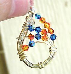 Wire pendant